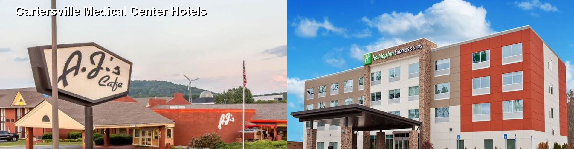 5 Best Hotels near Cartersville Medical Center