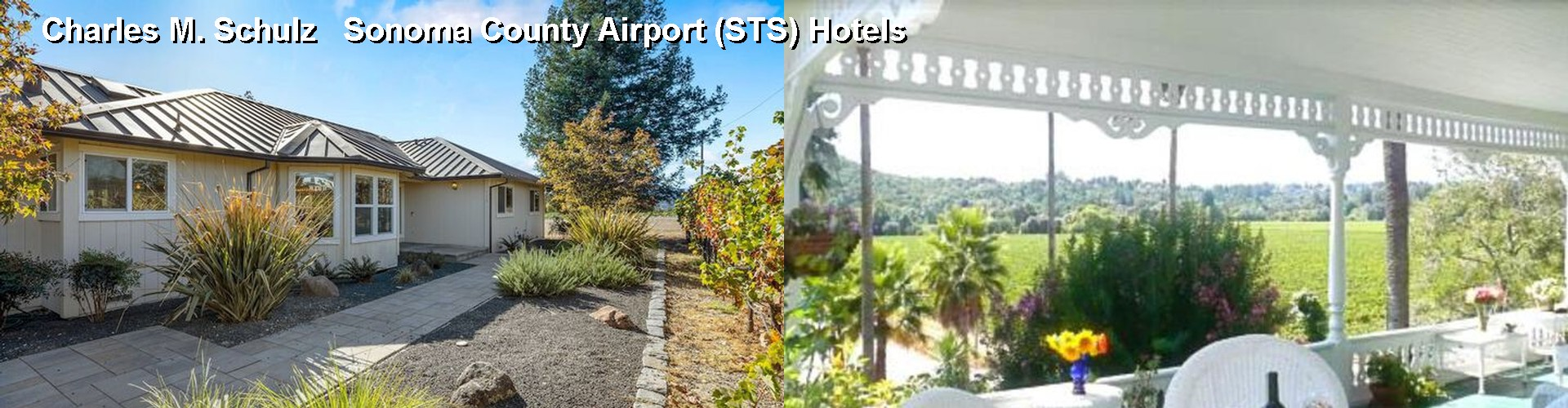 5 Best Hotels near Charles M. Schulz Sonoma County Airport (STS)