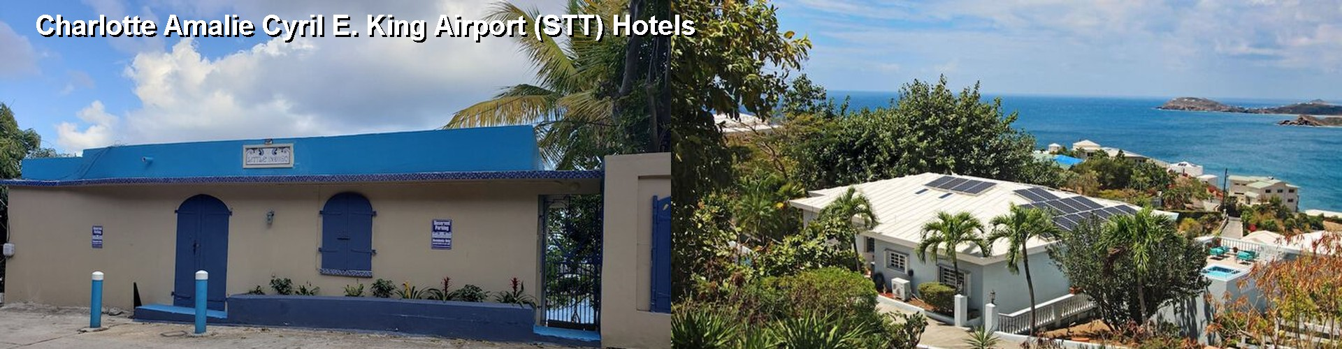 5 Best Hotels near Charlotte Amalie Cyril E. King Airport (STT)