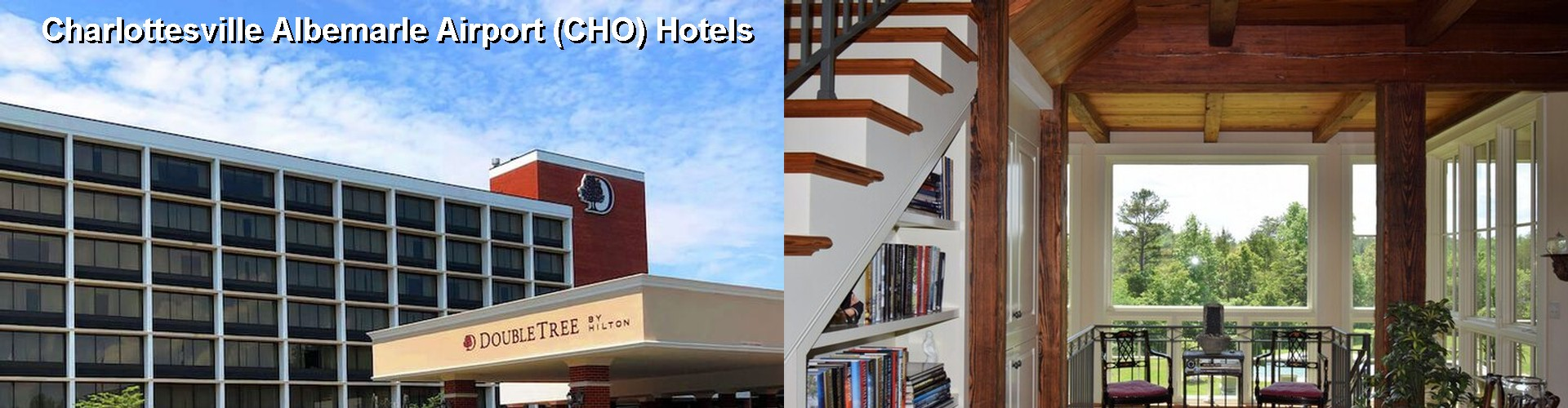 5 Best Hotels near Charlottesville Albemarle Airport (CHO)