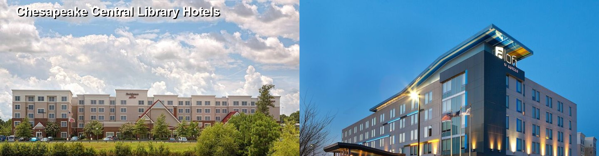 5 Best Hotels near Chesapeake Central Library