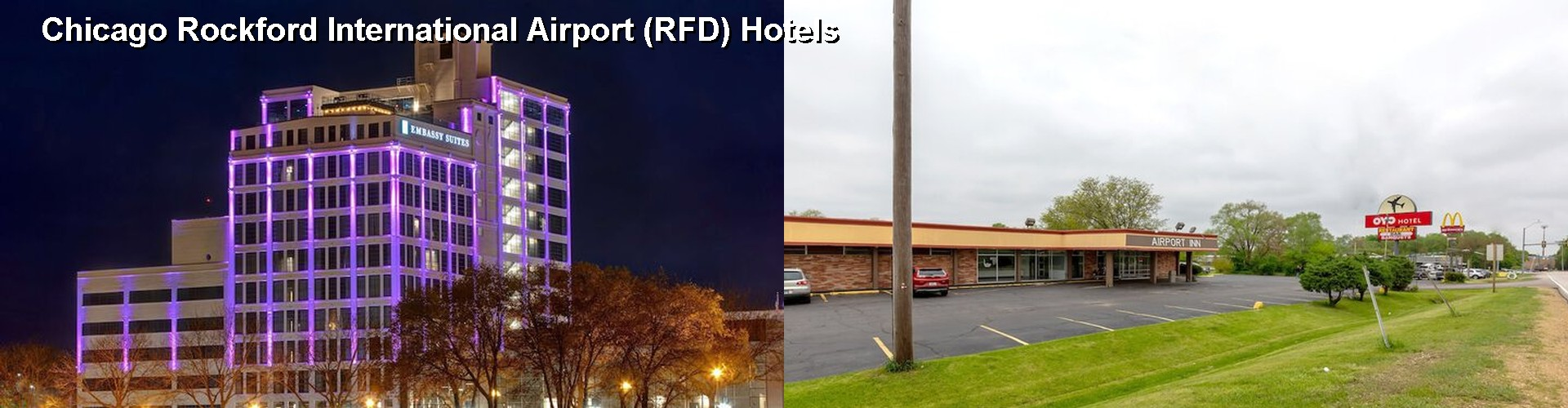 5 Best Hotels near Chicago Rockford International Airport (RFD)