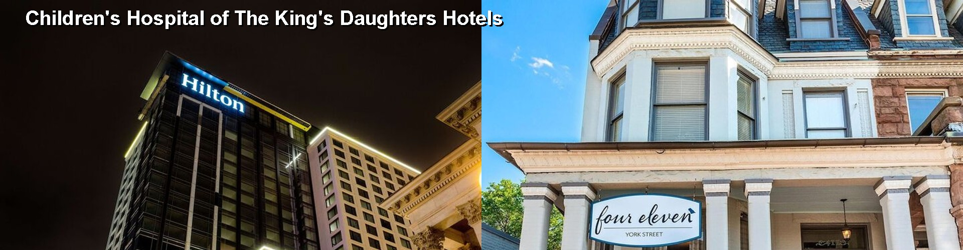 5 Best Hotels near Children's Hospital of The King's Daughters