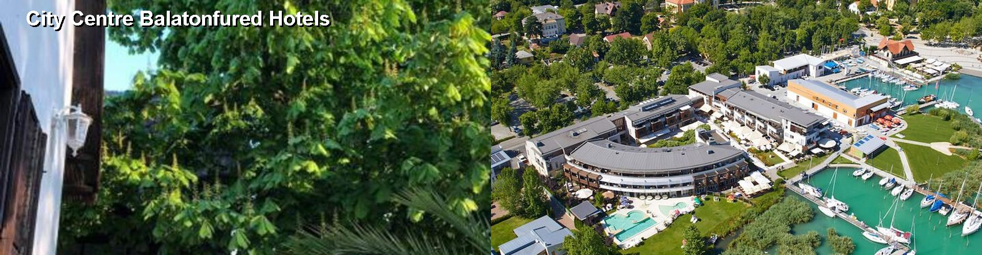 5 Best Hotels near City Centre Balatonfured
