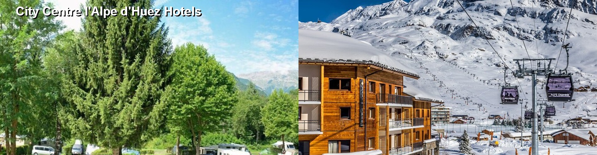 5 Best Hotels near City Centre l'Alpe d'Huez