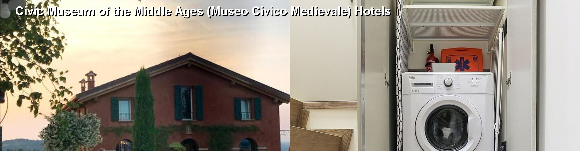 5 Best Hotels near Civic Museum of the Middle Ages (Museo Civico Medievale)