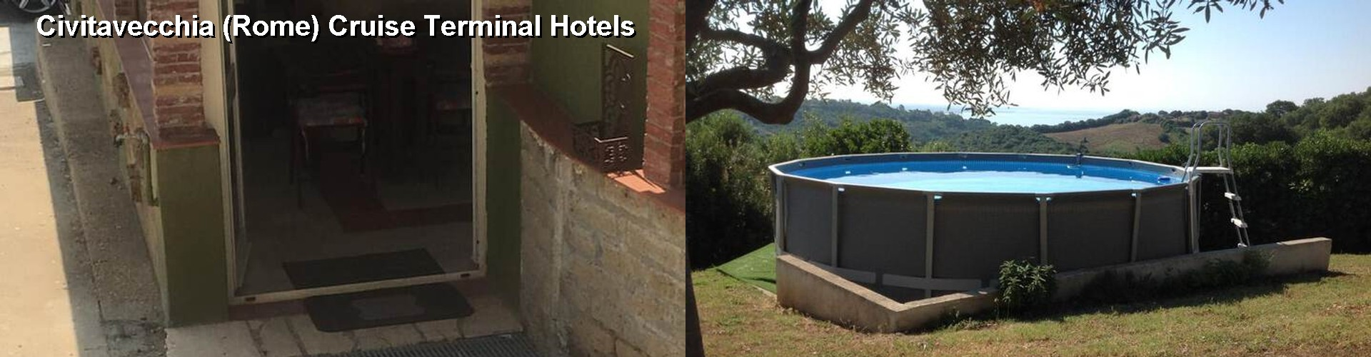 Hotels Near Civitava Rome Cruise Terminal