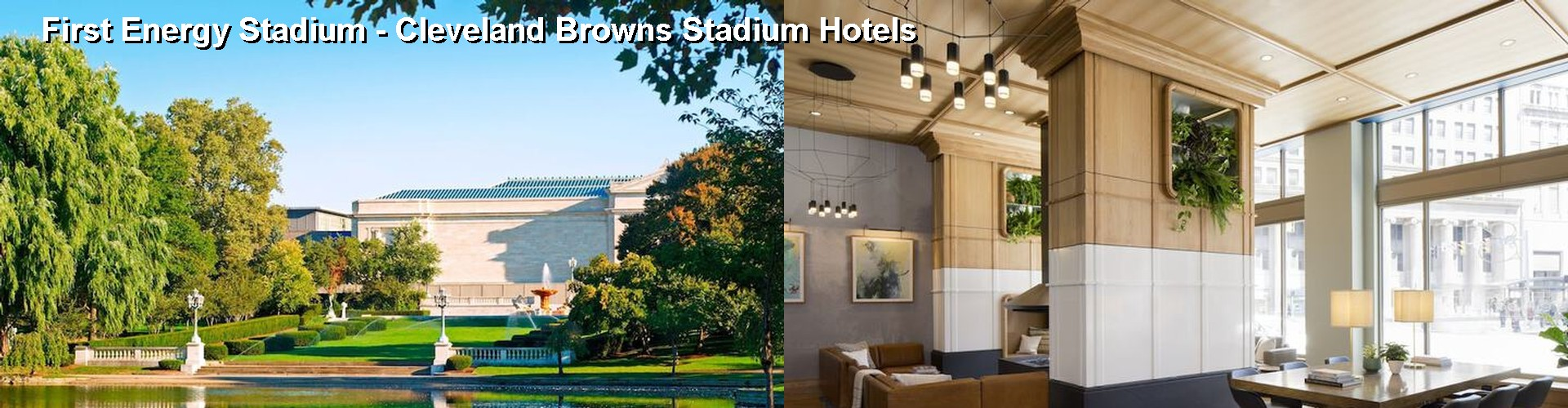 Hotels Near Cleveland Browns Stadium Cleveland Browns in North