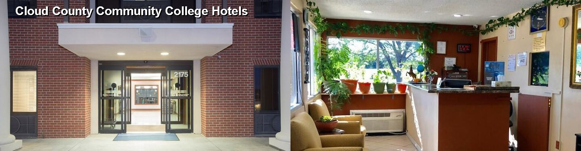 2 Best Hotels near Cloud County Community College