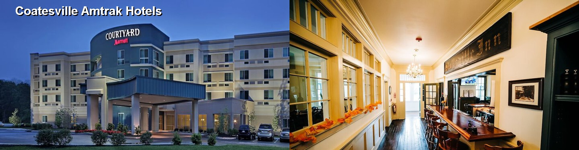 5 Best Hotels near Coatesville Amtrak