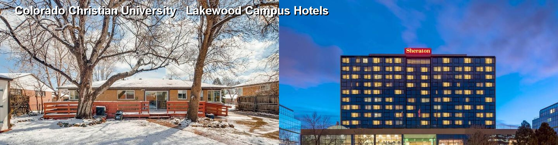 5 Best Hotels near Colorado Christian University Lakewood Campus