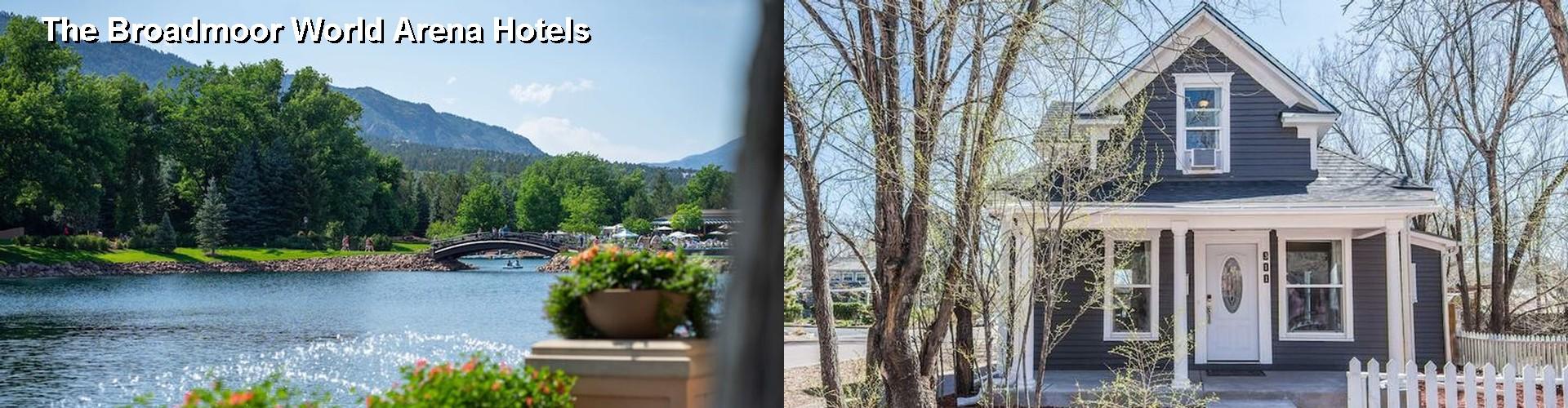 38 Hotels Near Colorado Springs World Arena CO – Map World Arena Colorado Springs