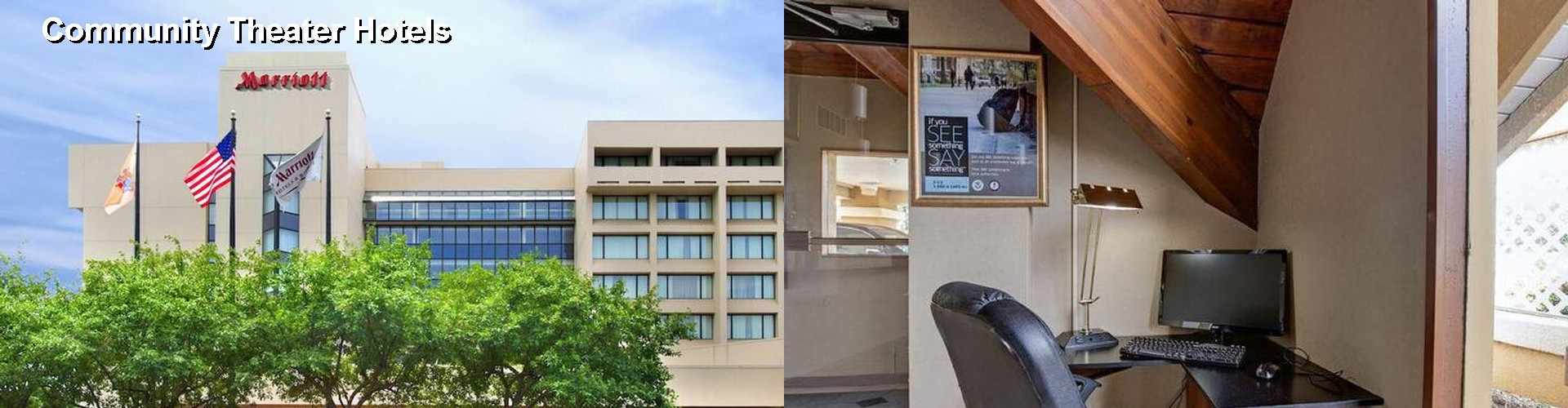 5 Best Hotels near Community Theater