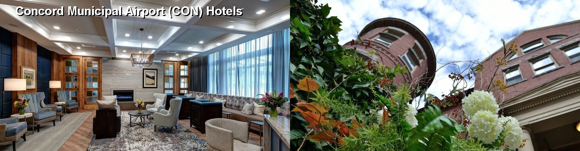 5 Best Hotels near Concord Municipal Airport (CON)
