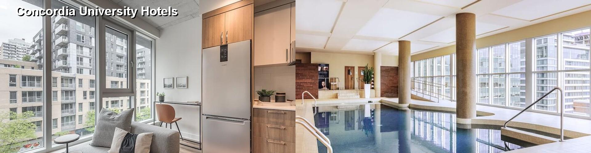 Hotels Near Concordia University Montreal