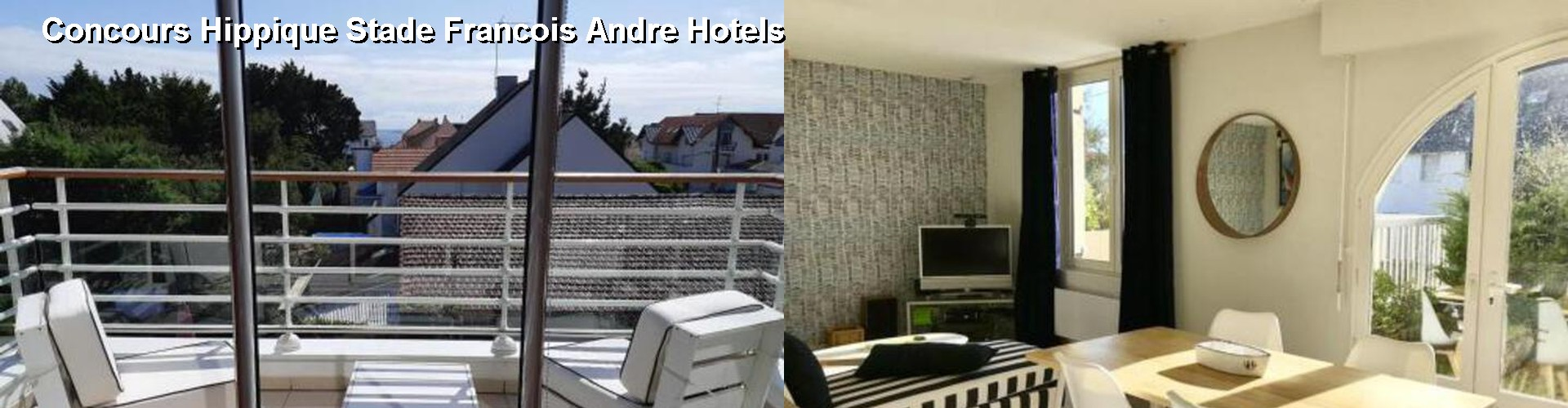 5 Best Hotels near Concours Hippique Stade Francois Andre