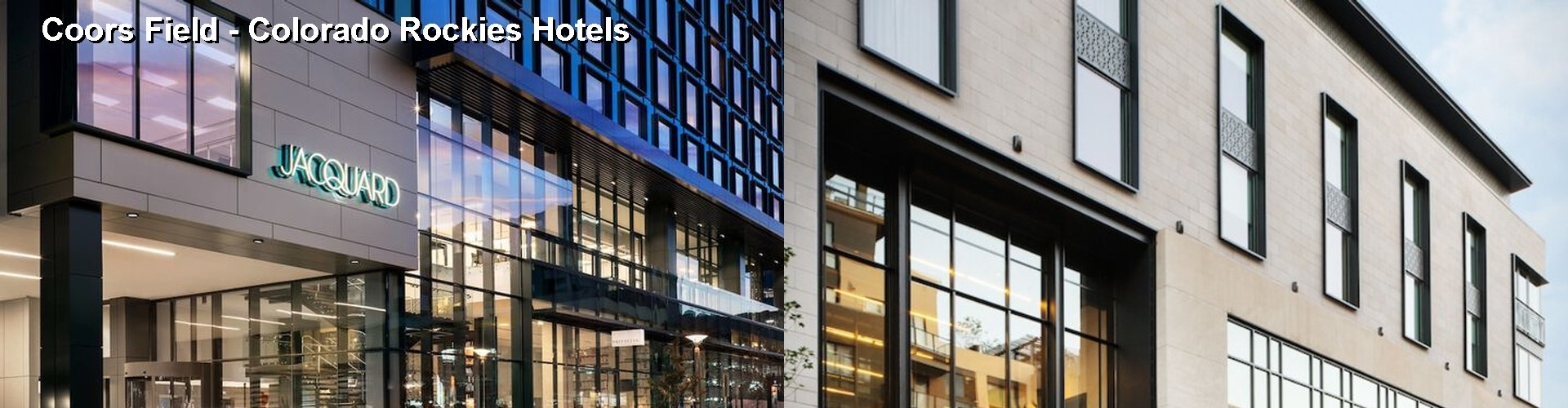 5 Best Hotels near Coors Field - Colorado Rockies