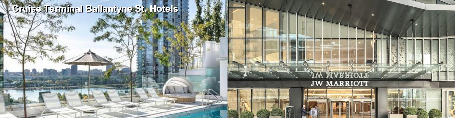 5 Best Hotels Near Cruise Terminal Ballantyne St