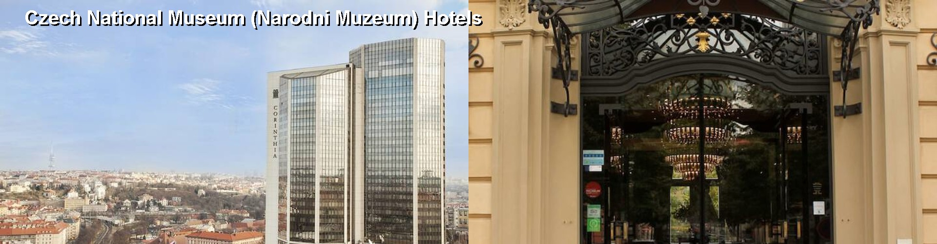 5 Best Hotels near Czech National Museum (Narodni Muzeum)