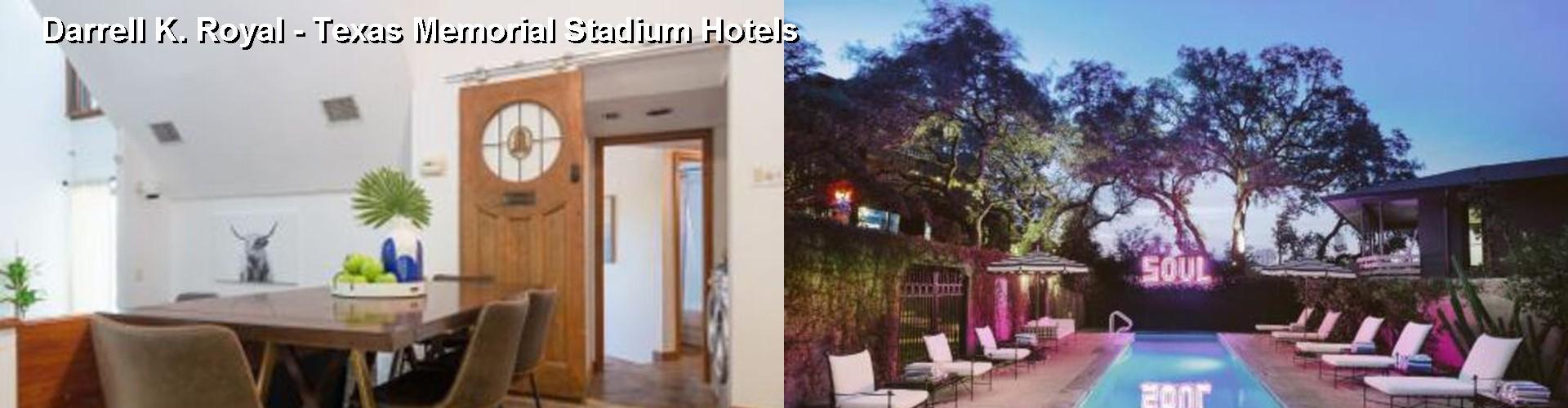 5 Best Hotels Near Darrell K Royal Texas Memorial Stadium