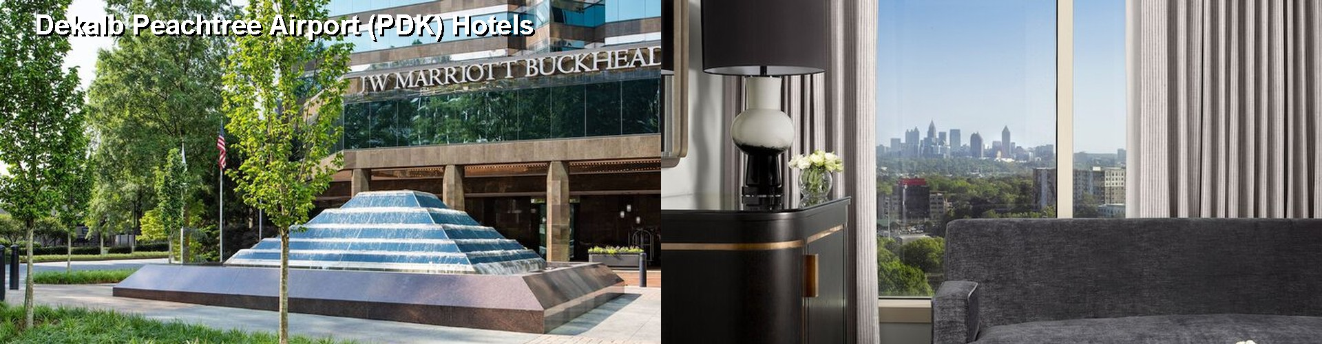 5 Best Hotels near Dekalb Peachtree Airport (PDK)