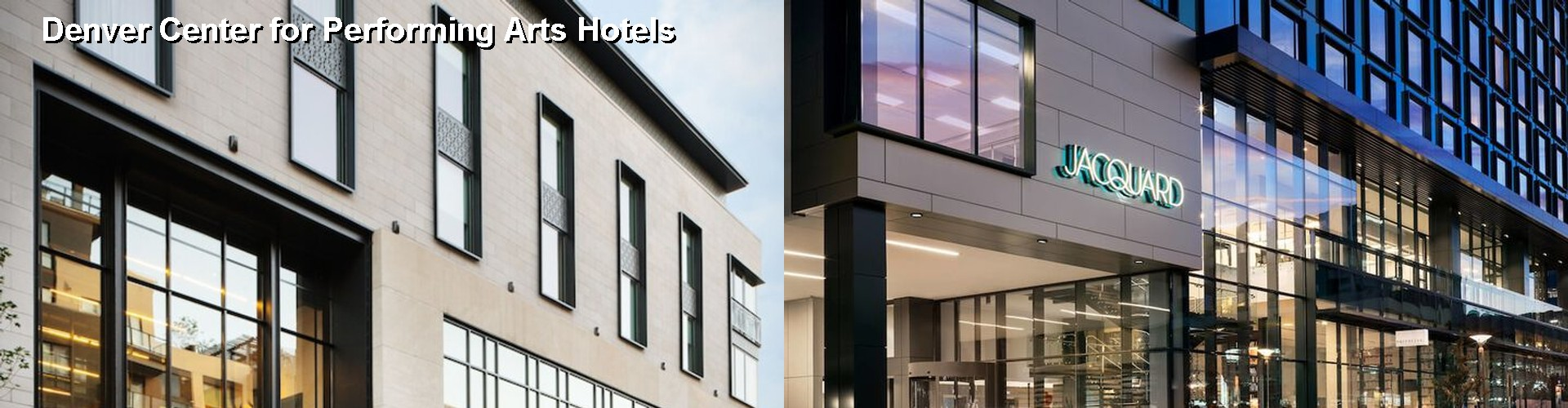 5 Best Hotels near Denver Center for Performing Arts