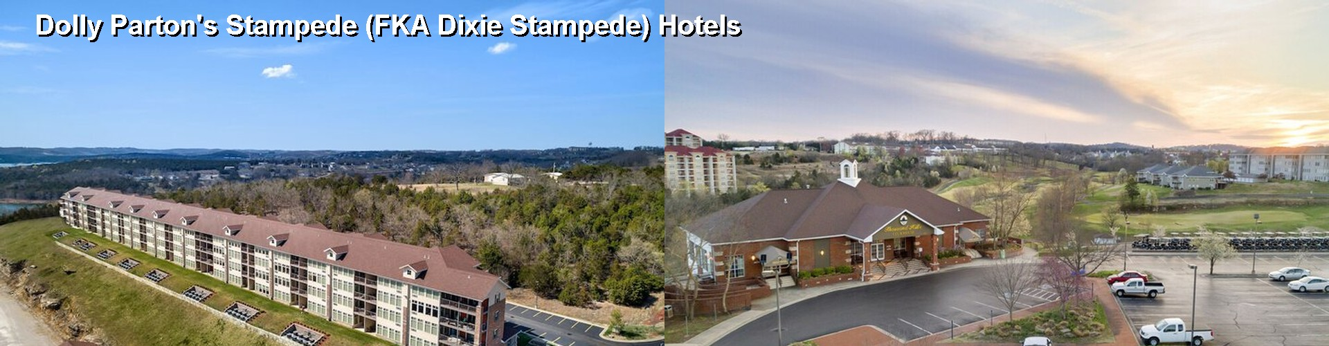 5 Best Hotels near Dixie Stampede Dinner Theater