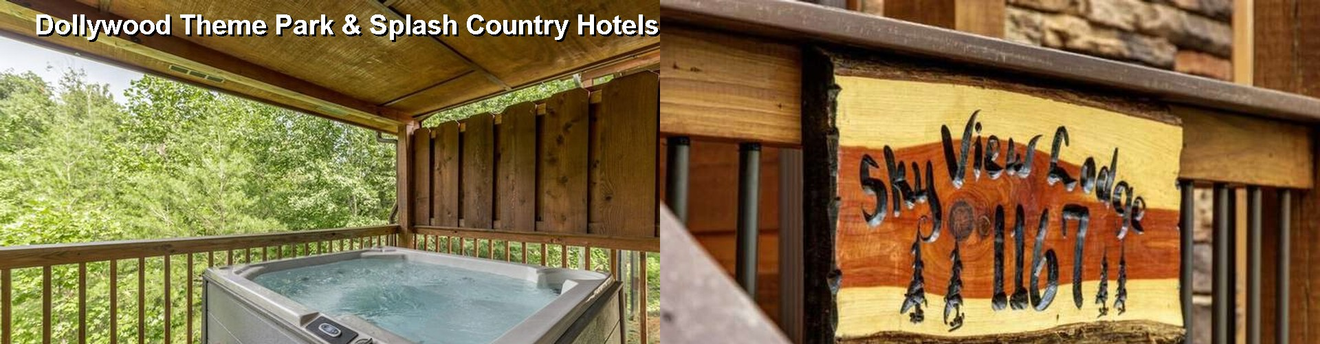 5 Best Hotels near Dollywood Theme Park & Splash Country