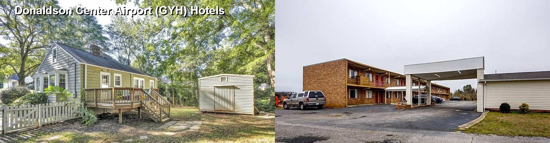 2 Best Hotels Near Donaldson Center Airport Gyh