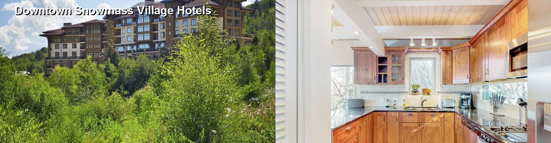 5 Best Hotels near Downtown Snowmass Village