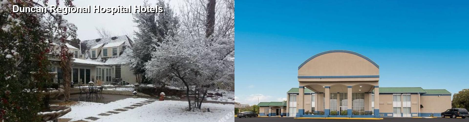 5 Best Hotels Near Duncan Regional Hospital