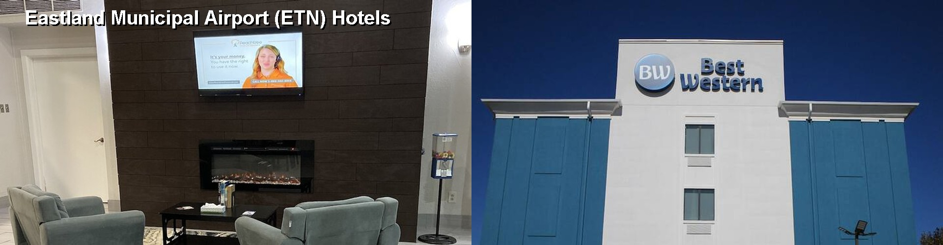 3 Best Hotels near Eastland Municipal Airport (ETN)
