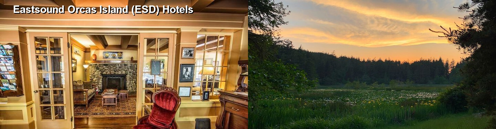 5 Best Hotels near Eastsound Orcas Island (ESD)