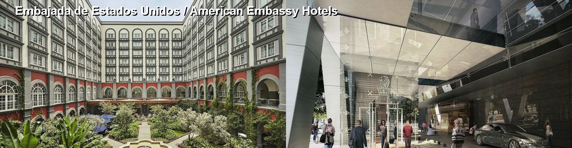 5 Best Hotels near Embajada de Estados Unidos / American Embassy