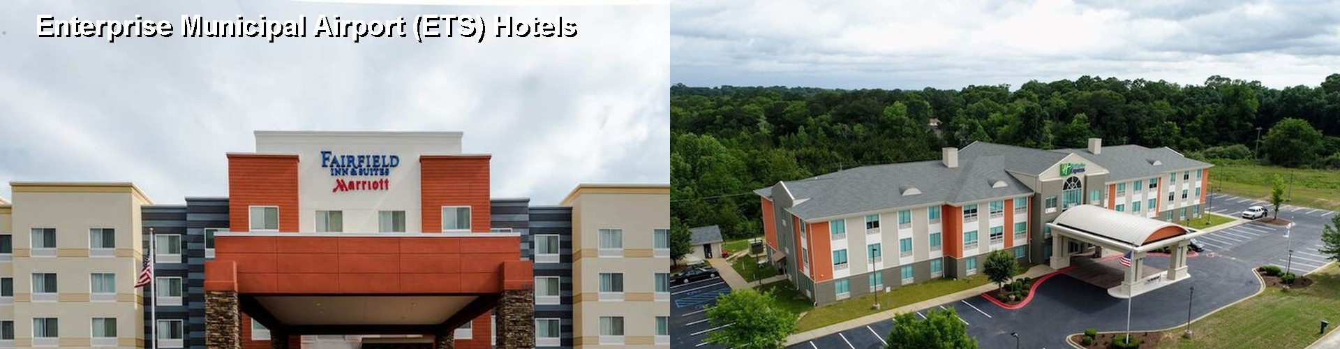 5 Best Hotels near Enterprise Municipal Airport (ETS)