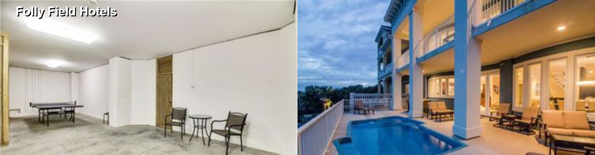 5 Best Hotels near Folly Field