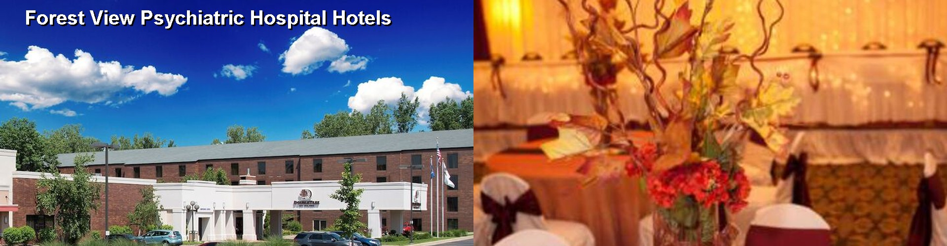 5 Best Hotels near Forest View Psychiatric Hospital