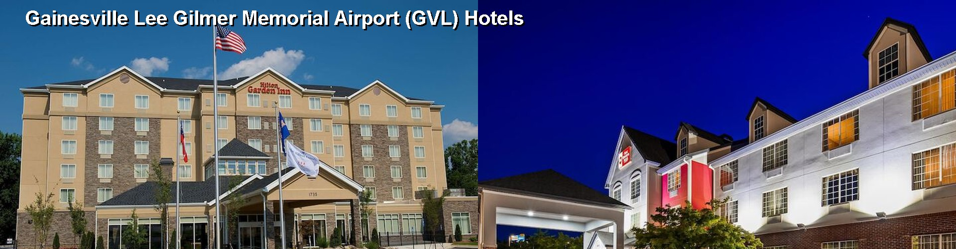5 Best Hotels near Gainesville Lee Gilmer Memorial Airport (GVL)