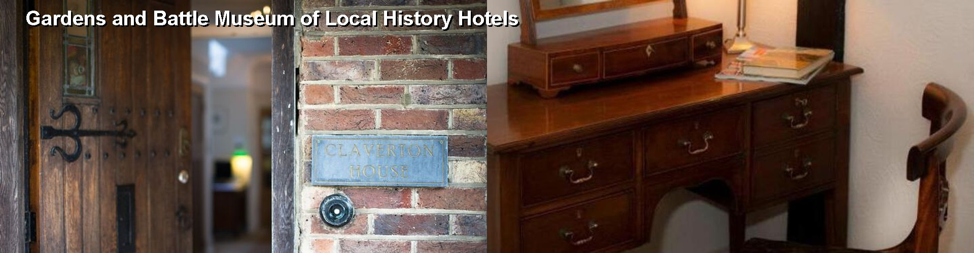 3 Best Hotels near Gardens and Battle Museum of Local History