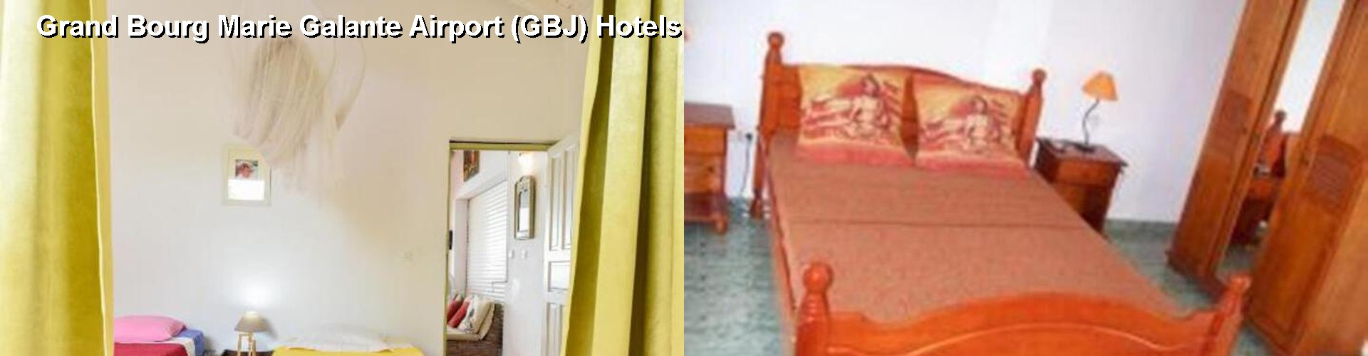 5 Best Hotels near Grand Bourg Marie Galante Airport (GBJ)