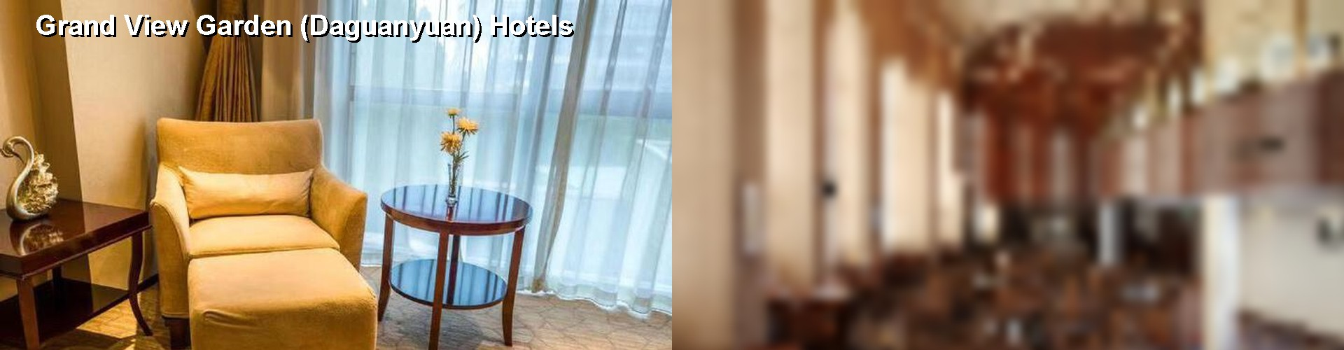 5 Best Hotels Near Grand View Garden Daguanyuan