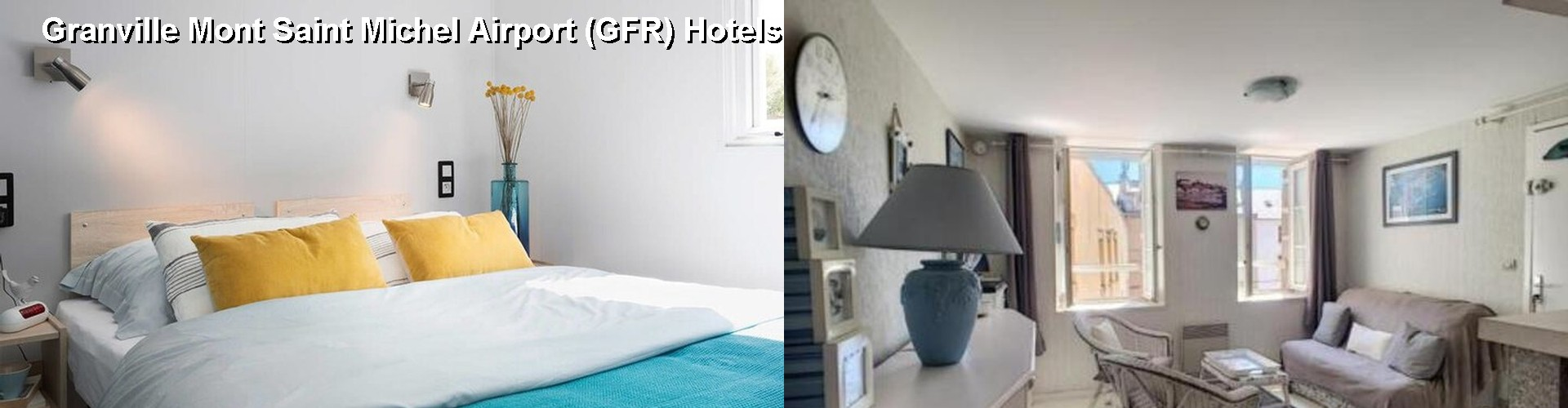 5 Best Hotels near Granville Mont Saint Michel Airport (GFR)