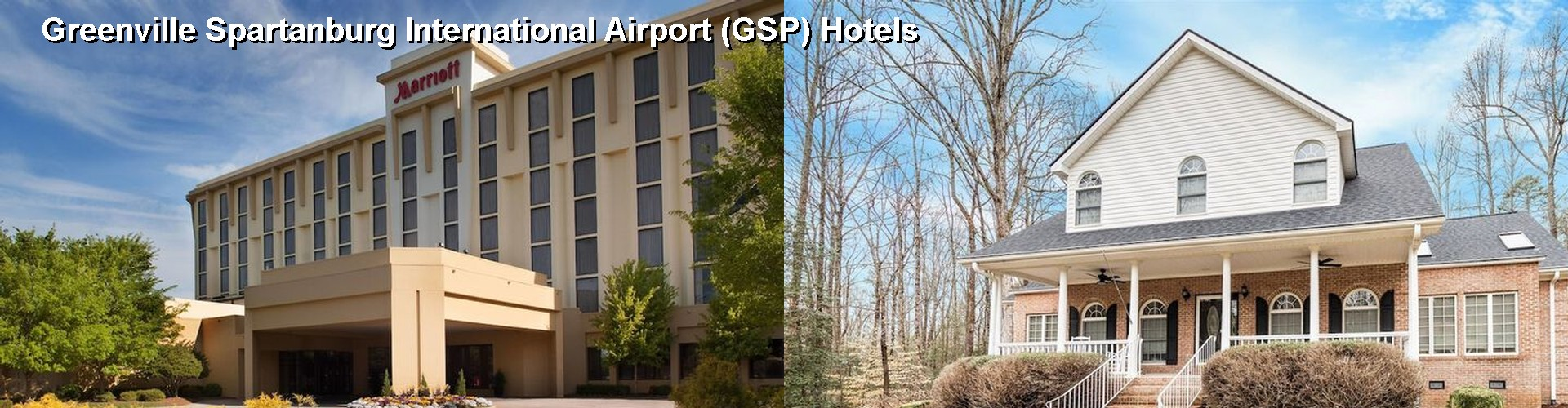 5 Best Hotels near Greenville Spartanburg International Airport (GSP)