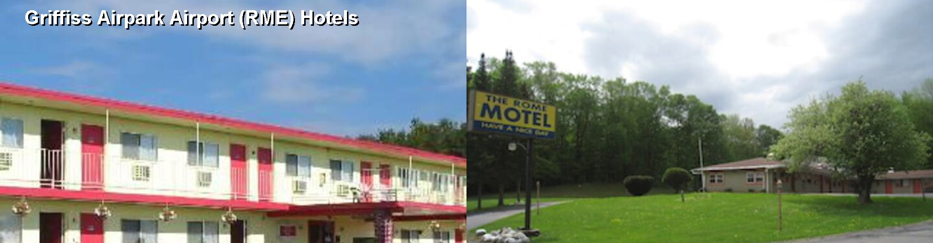 5 Best Hotels near Griffiss Airpark Airport (RME)