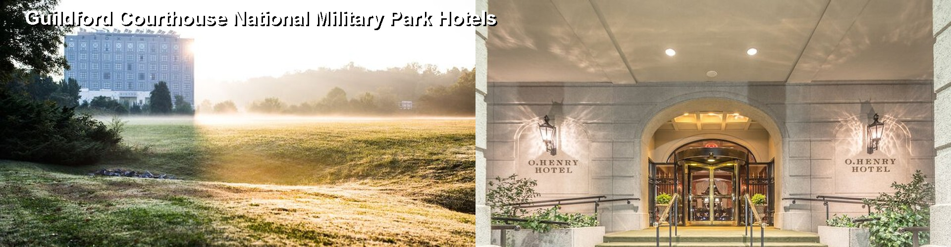 5 Best Hotels near Guildford Courthouse National Military Park
