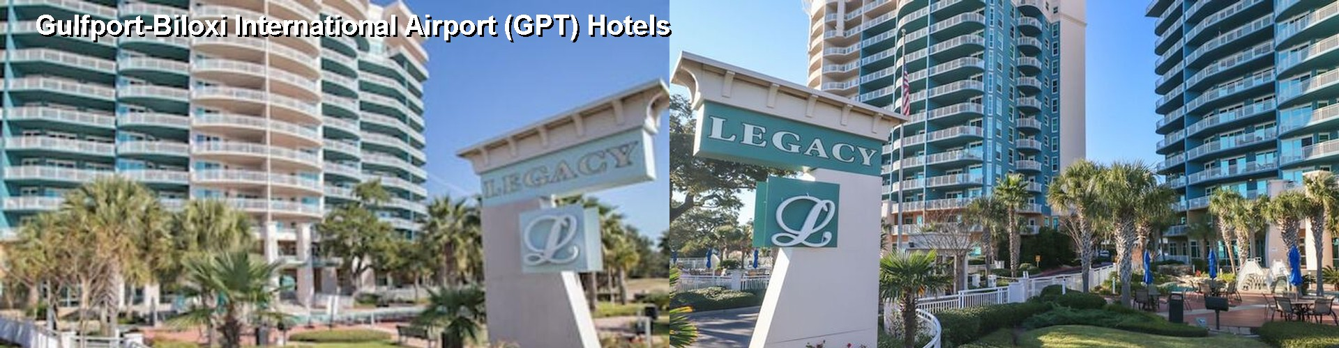 5 Best Hotels near Gulfport-Biloxi International Airport (GPT)