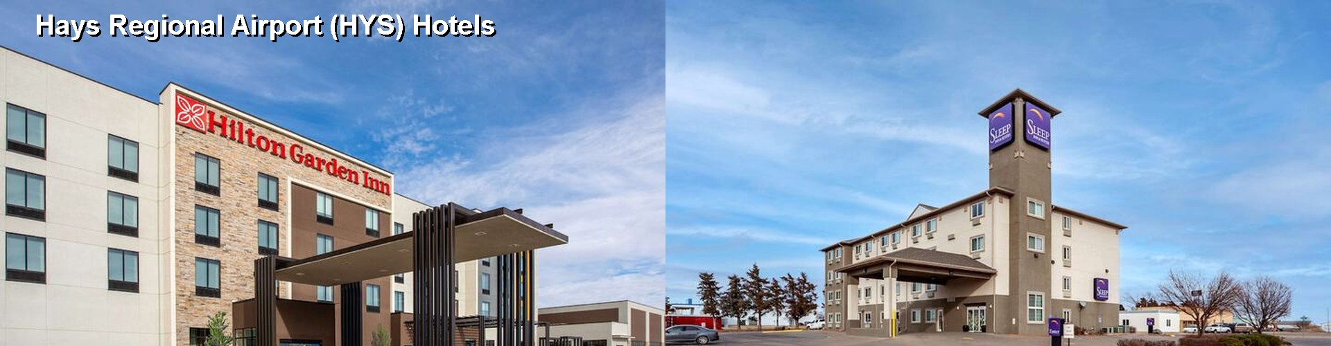 5 Best Hotels near Hays Regional Airport (HYS)