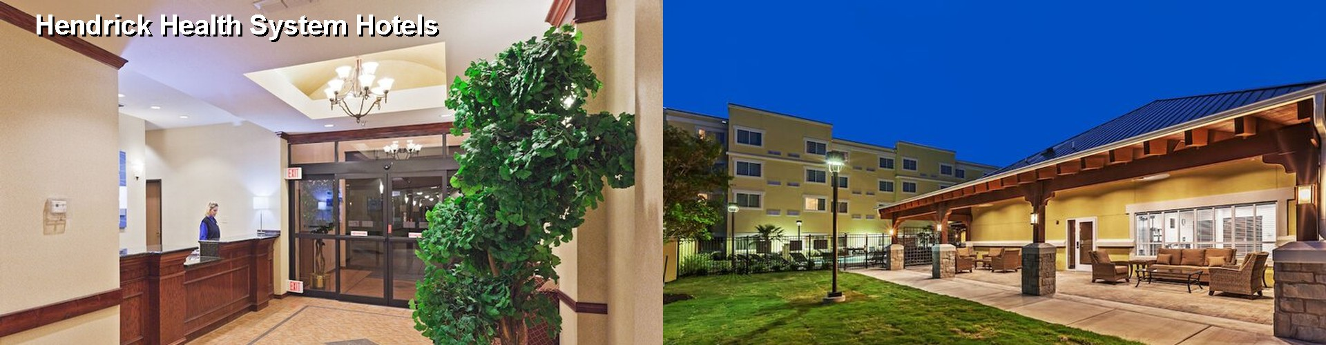 5 Best Hotels near Hendrick Health System