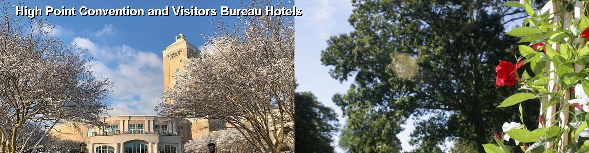 3 Best Hotels near High Point Convention and Visitors Bureau