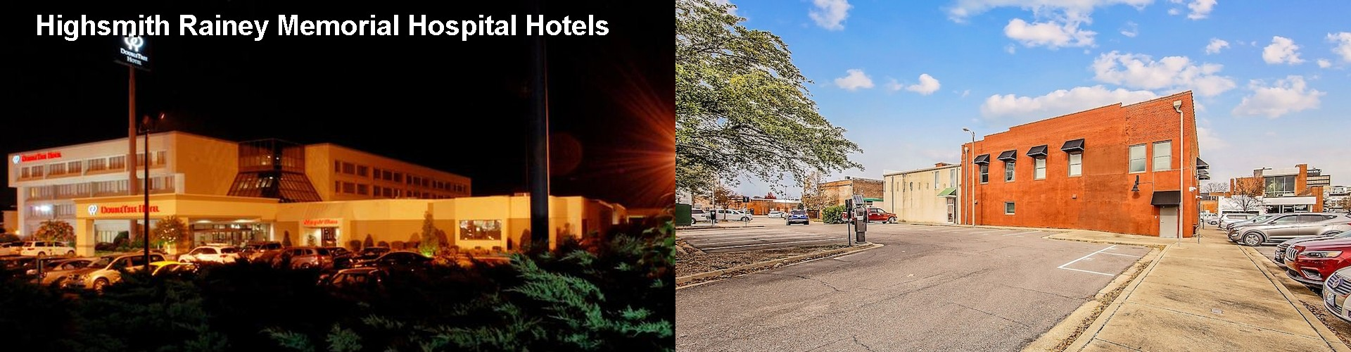 2 Best Hotels near Highsmith Rainey Memorial Hospital